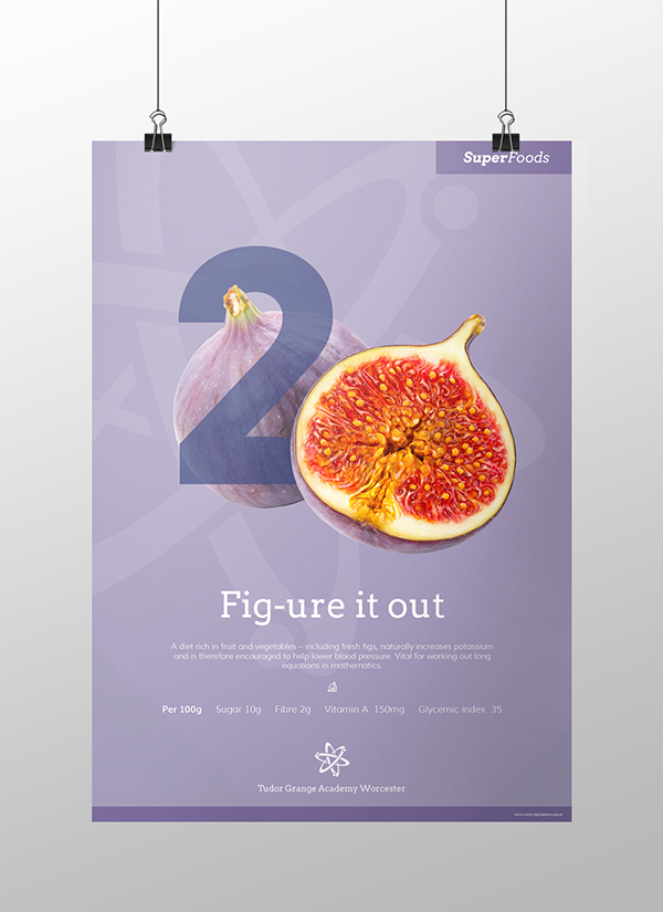 Design Classroom Posters ~ Healthy eating posters super foods on pantone canvas gallery