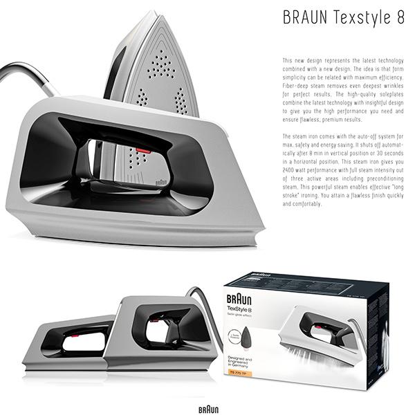 how to clean a braun steam iron