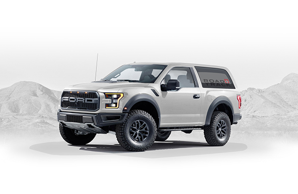 Ford Raptor Logo >> 2020 Ford Bronco Concept on AIGA Member Gallery
