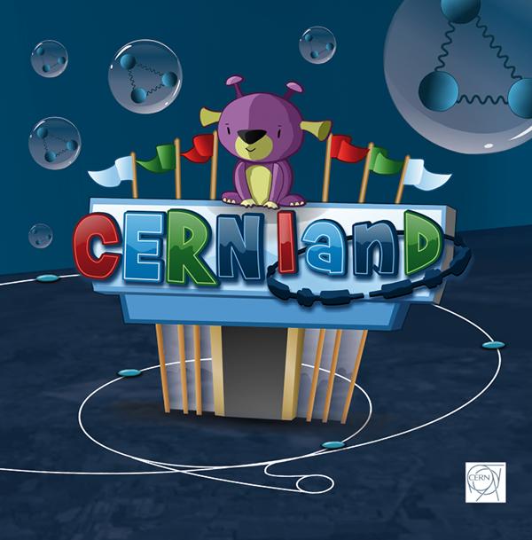 kids  CERN   cernland DVD educational interactive Games