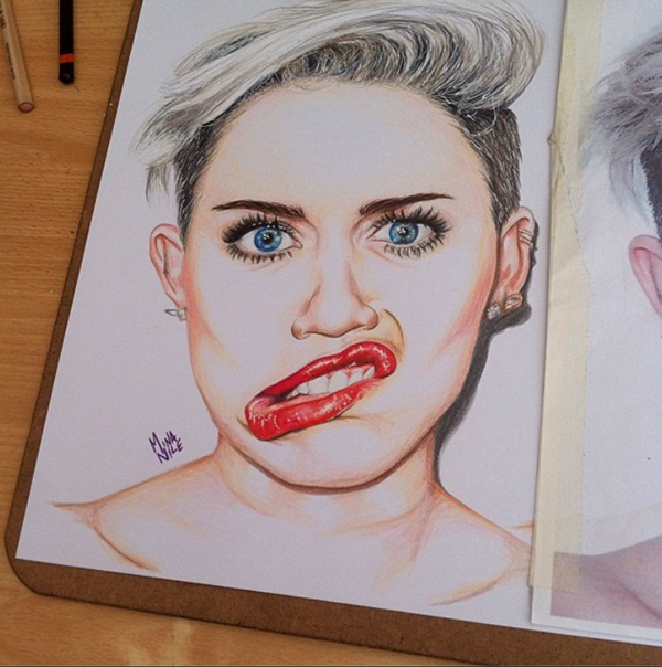 Miley Cyrus On Behance