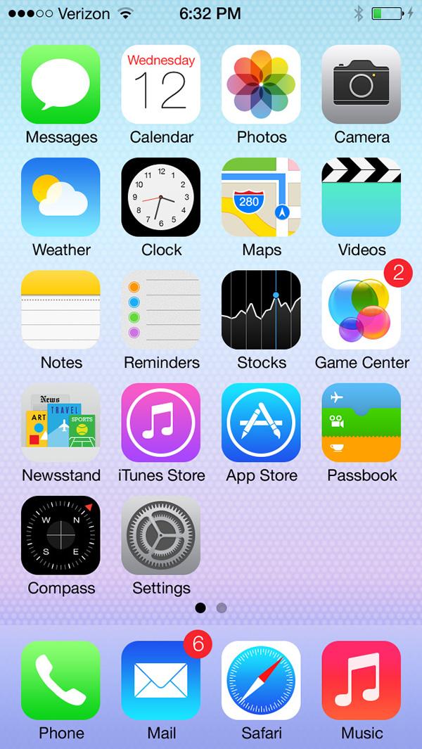 ios ios7 psd Mockup Icon icons flat UI GUI Interface shape vector home