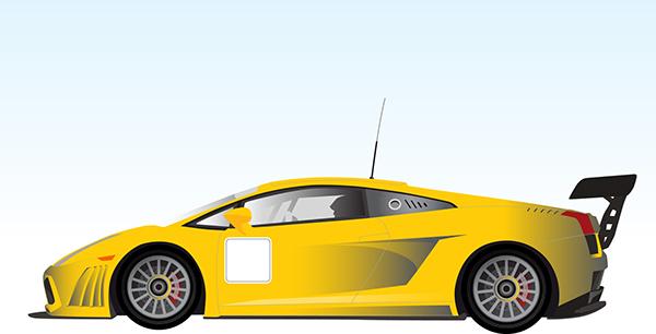 Lamborghini Illustration On Behance