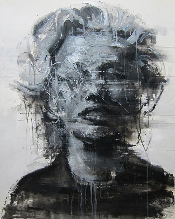 X-report_oldstar#06 acrylic on canvas 90.9x72.7cm