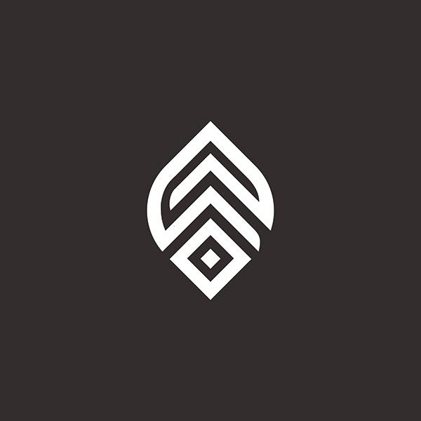 Minimal Leaves Logo/Leaves alpha
