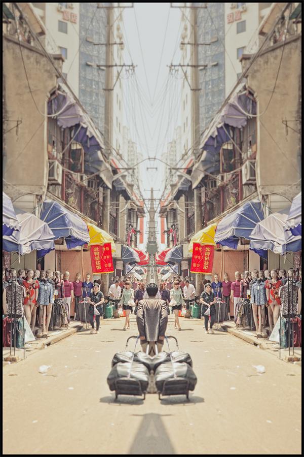 china editorial Travel vintage digital