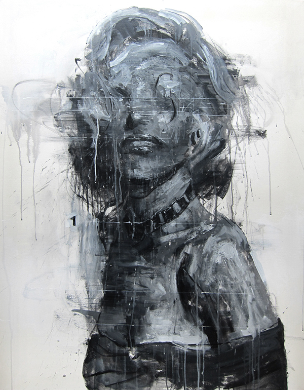 X-report_oldstar#04 acrylic on canvas 116.8x91.0cm
