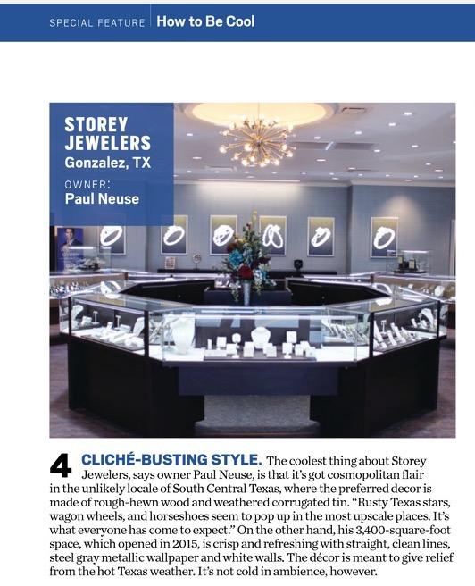 Interior Design: Jewelry Stores