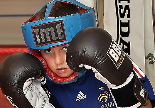 Amateur Boxing Gym 55
