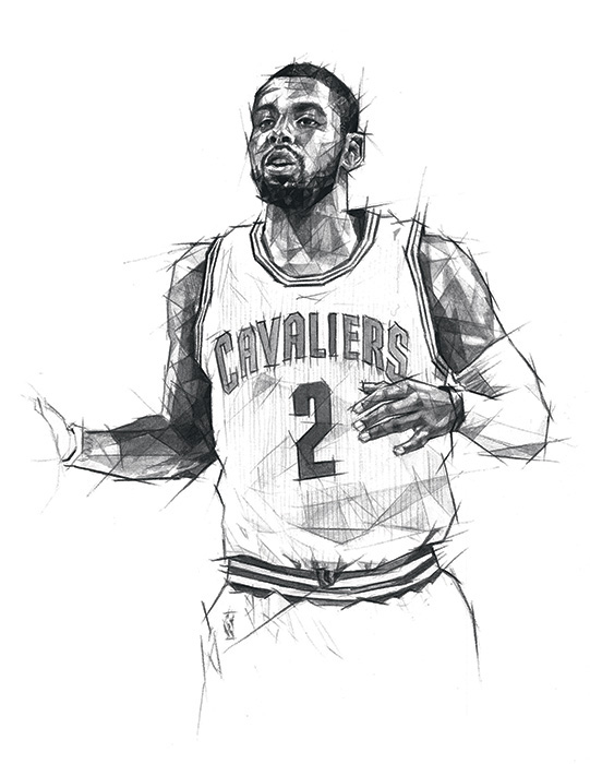 Drawing Lines James Rachels Summary : Cleveland cavaliers poster on behance