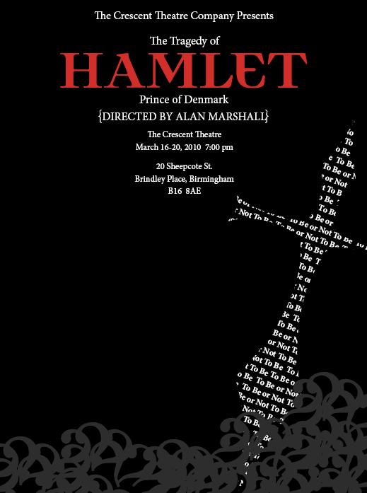 Hamlet Poster on Behance