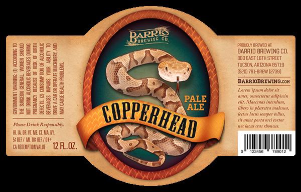 Barrio Brewing Co Beer Label on Behance – Beer Label