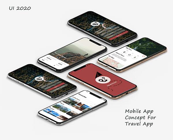 Travel App Ui