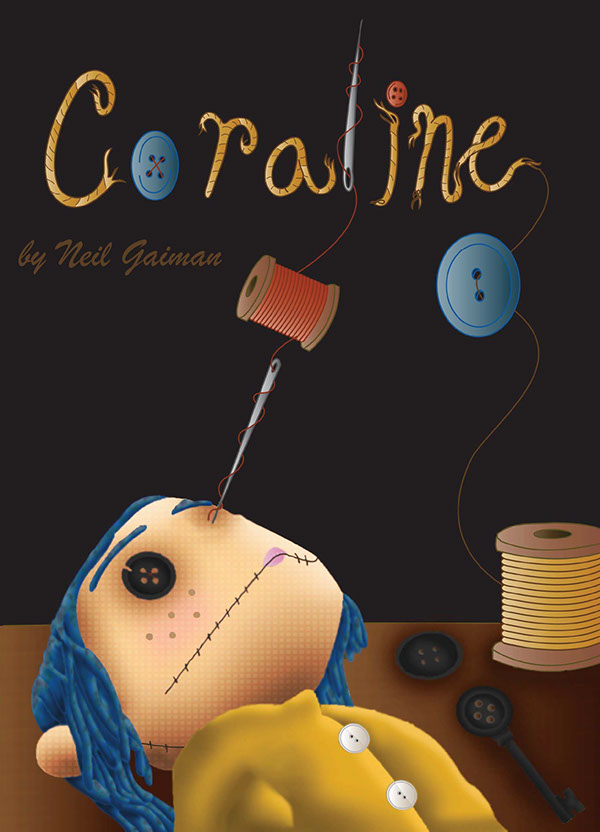 Coraline Book Cover 2012 On Ringling Portfolios