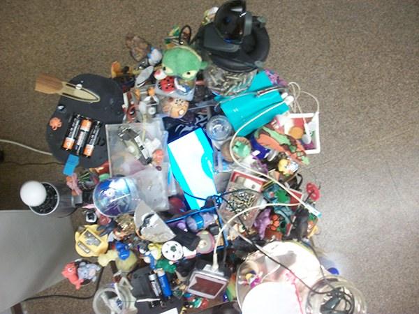 The Heap p-ars andrea roccioletti www.p-ars.com accumulo ordine Disordine