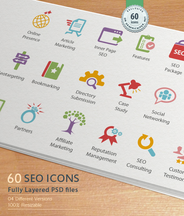Seo Services Icons Seo Services Icons on Behance
