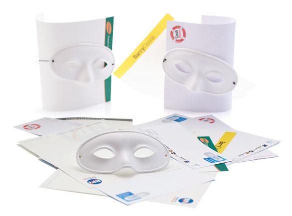 masks Printed Materials