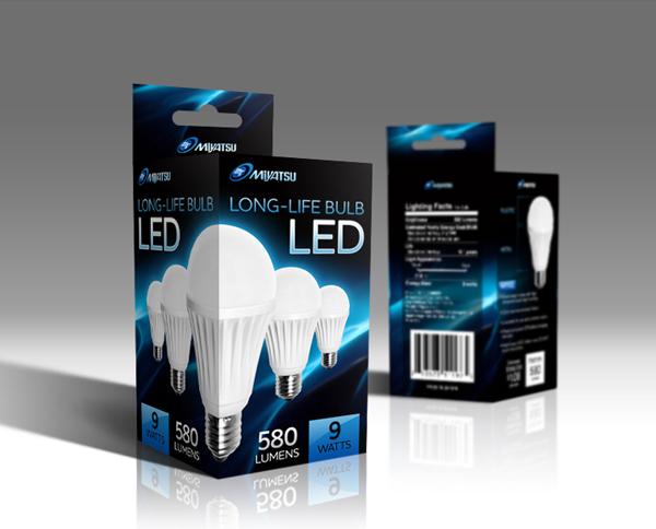 Led Bulb Packaging On Behance