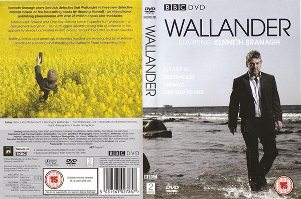 Branagh's Wallander on Behance