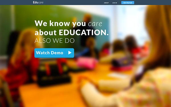 Education Web app Honduras