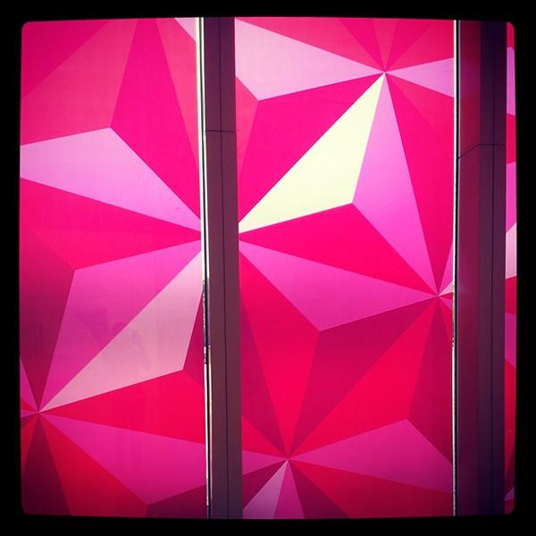 Exhibition  shangai design hexagone