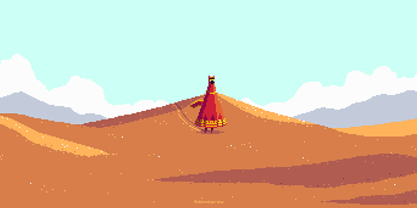 Pixel art journey Video Games