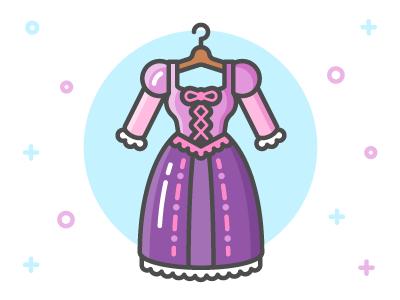 Princess Dress Icon Series on Behance