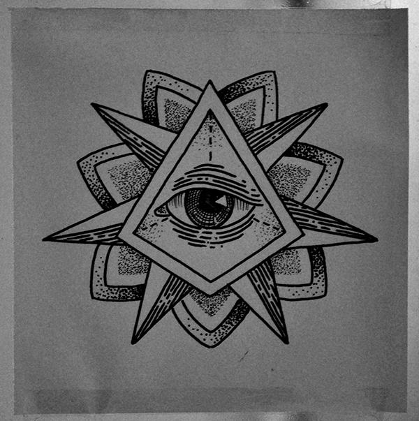 Triangle Eye Tattoo On Behance