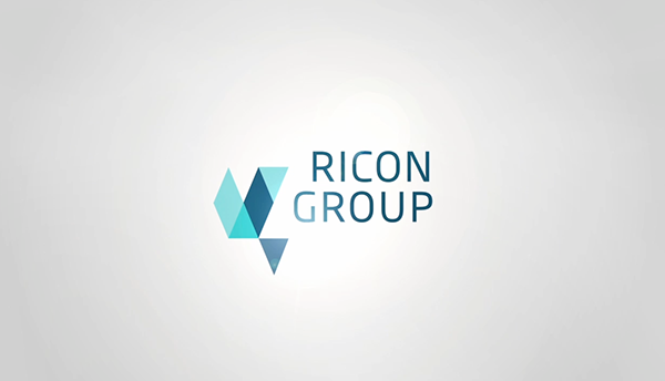 ricon group � motion logo on behance