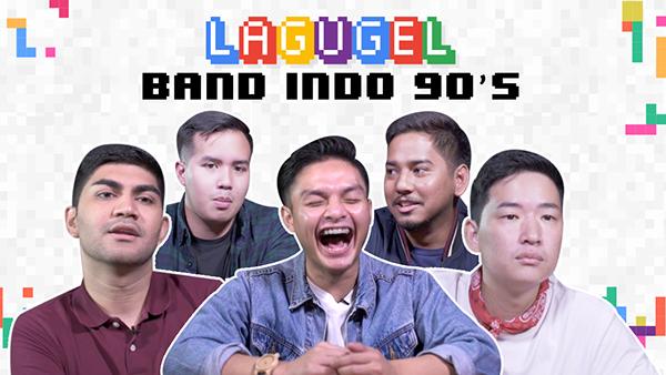 Lagugel series Indonesia's bands in 90's songs