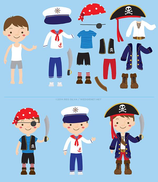Pirate Boy Dress Up Game On Behance