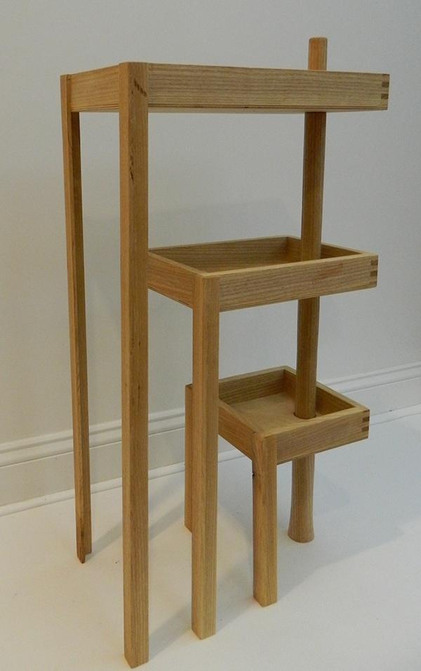 Ash Wood Table ~ Modular ash wood table on wacom gallery