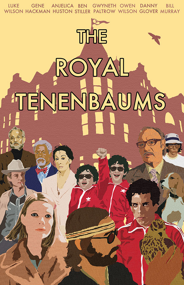The Royal Tenenbaums Movie Poster