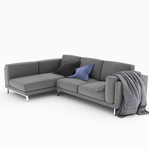 Nockeby sofa on behance for Sofa nockeby