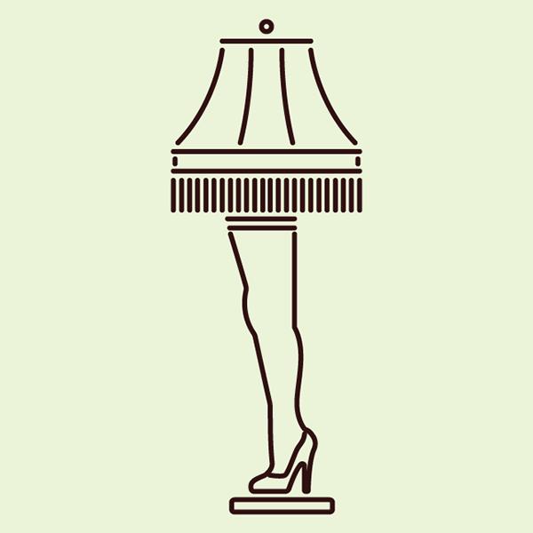 Leg Lamp Icon On Behance