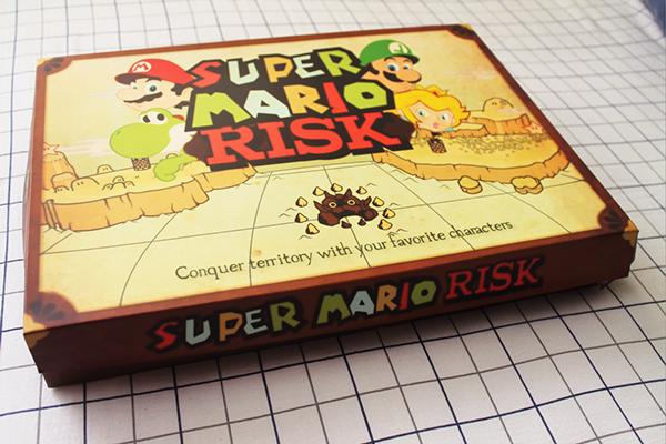 Super Mario Risk Juego De Mesa On Behance