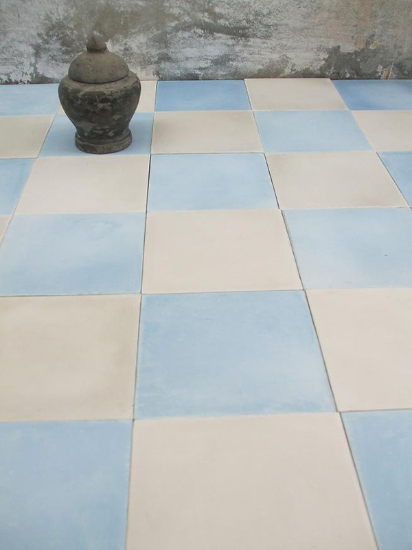 Sadus Hand Made Cement Tiles Checkerboard On Behance
