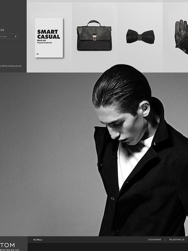 Bytom e-commerce eshop shop store suit elegant jacket Style Responsive rwd design web-design tailor
