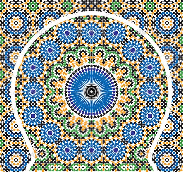 Moroccan Arabic Pattern Mosaic On Behance
