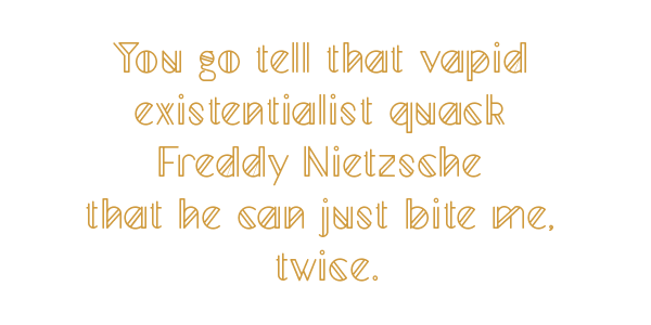 font Typeface Mad Squire geometric experimental type lightweight Hipster Nele Tullus line light Mad