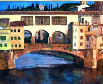 Rome Ponte Vechio  Florence
