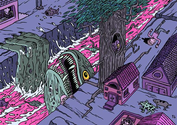 alien Scary nightmare Tom Grillo Grillo