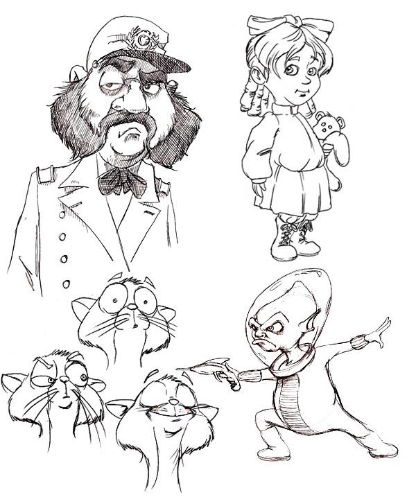 Character Design Jobs In Atlanta : Sketchbook ii on behance