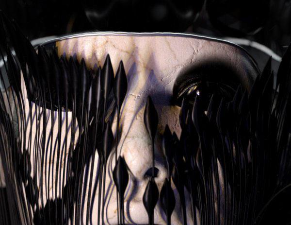 Motion Poem vanish cinema4d Octane Render surreal heads