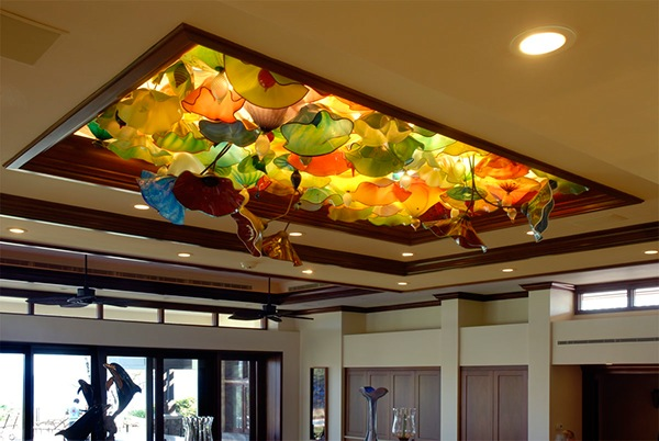 Glass Ceiling Installation In Hawaii 3 -dimensional On Behance