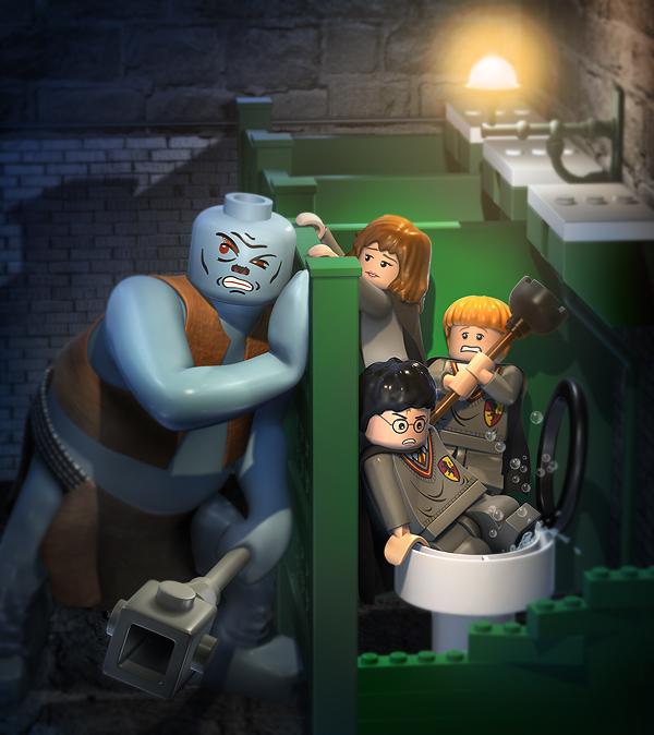 LEGO Harry Potter on Behance