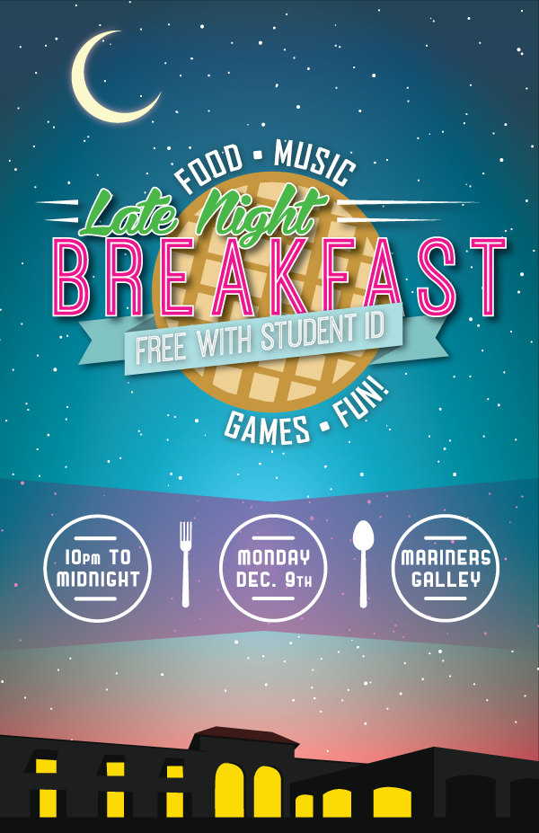 Emory College Classroom Design Guide ~ Ccga late night breakfast student life on behance