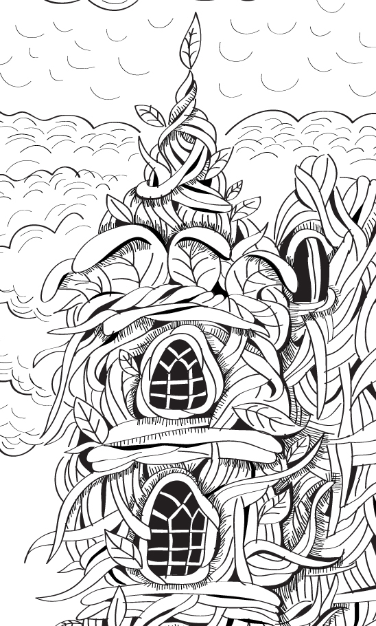 Castle Enchanted Forest Coloring Book Coloring Pages