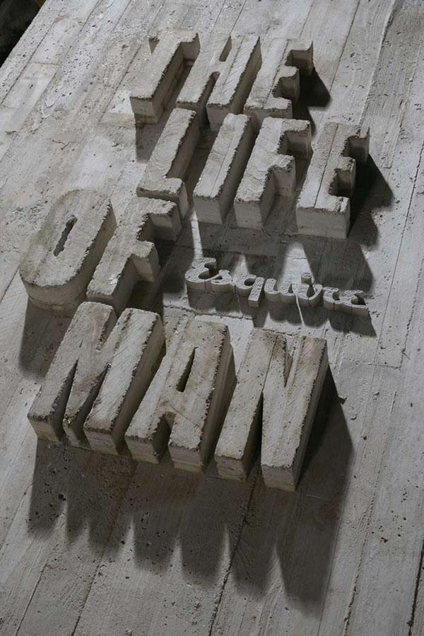 Esquire magazine r2 3D Type www.r2design.pt Lizá Ramalho  artur rebelo