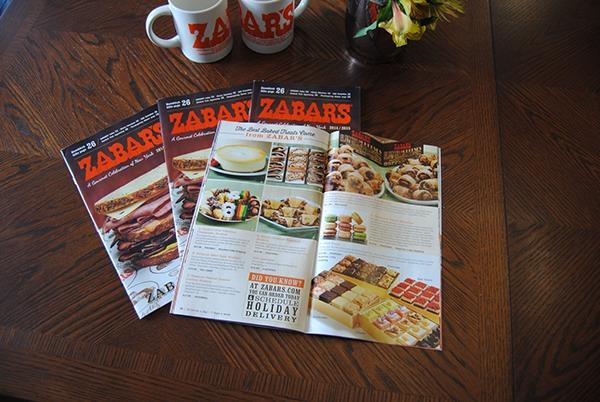 Zabar's 80th Anniversary Coffee Catalog Design